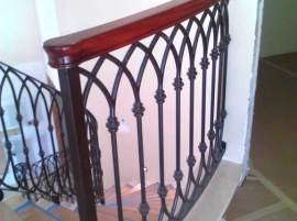 MCR Iron Works: Iron railings 18a